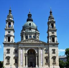 Façade de la Basilique Saint Etienne de Pest