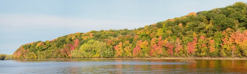 Fall Colors Along the St. Croix River