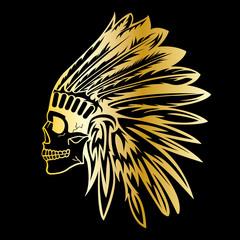 indianer skull