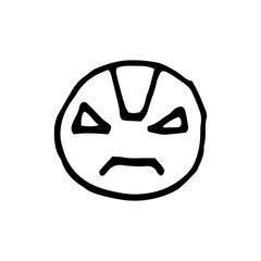 Emoticon smile logo