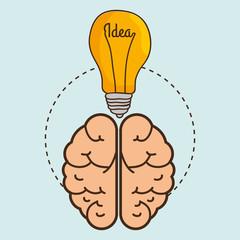 ideas isolated icon design, vector illustration  graphic