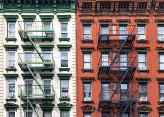 Fototapete - Buildings Near NYU in Manhattan, New York City