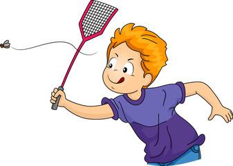 Kid Boy Fly Swatter