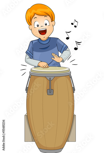 kid boy conga stock image and royalty free vector files on fotolia