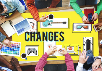 Changes Adapting Choice Future Improvment Concept
