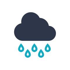 Nature logo weather season icon vector