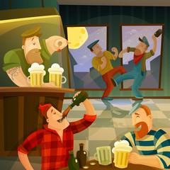 Irish Pub Background