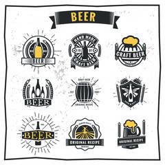 Beer Label and Logos.