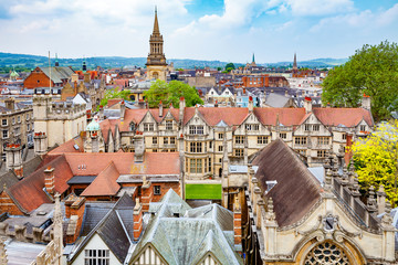 Oxford city. England