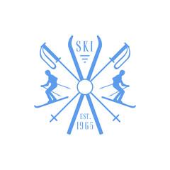 Ski Club Emblem Design