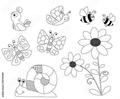 Spring Coloring Pages For Children