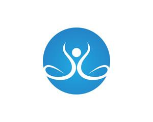 Success people health life logo