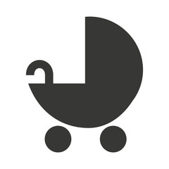 baby cart  isolated icon design