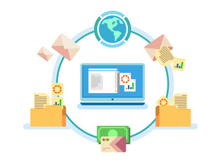 Electronic document management