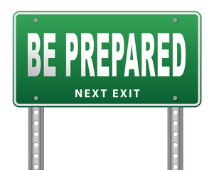 Be prepared for the worst and ready before the big change. Are you ready, it is time to plan ahead and in advance...