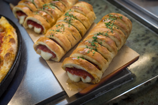 Meat Cheese Stromboli