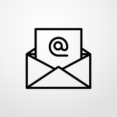 email icon. email sign