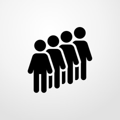 people icon. people sign