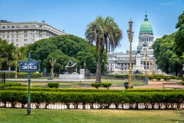 Türaufkleber Buenos Aires Plaza Congreso - Buenos Aires, Argentina