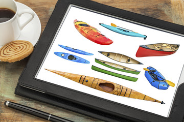 paddling boats abstract, all screen pictures copyright by the photographer