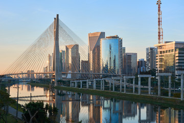 Sao Paulo Estaiada Bridge Brazil