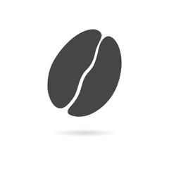 Coffee bean icon - Vector