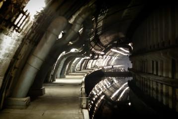 Classified military object K-825 - underground submarine base