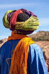 Marokko - Berber in der Kasbah von El Glaoui