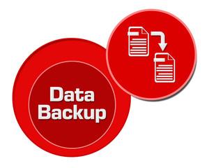 Data Backup Red Circles