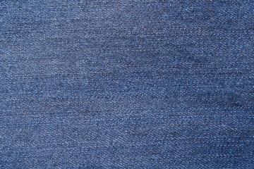 Blue jeans textile texture background