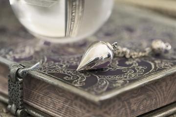 Fortune telling, magic scene