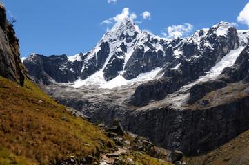 South America, Peru, Cordillera Blanca mountains