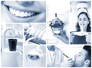 Dental image mosaic