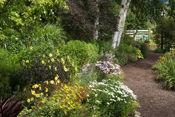 Summer Garden Path