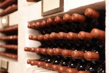 Details bottles of wine