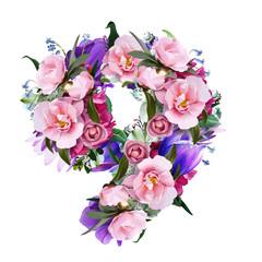 floral figures 9