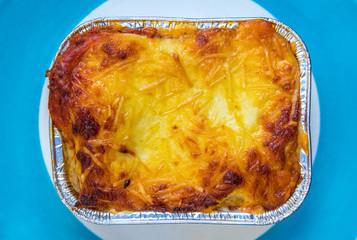 pre-made lasagne oven dish