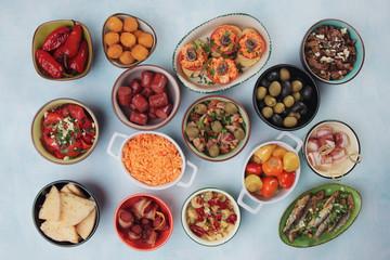 Tapas, antipasto or mezze