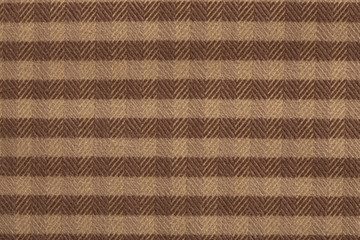 Checkered fabric background