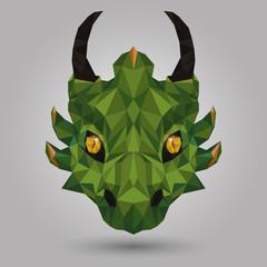 geometric dragon