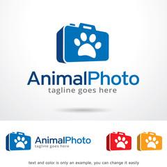 Animal Photo Logo Template Design Vector
