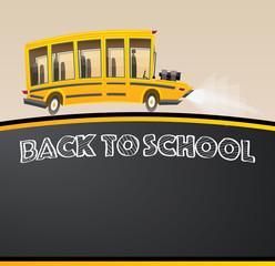 School Bus. Vector Illustration