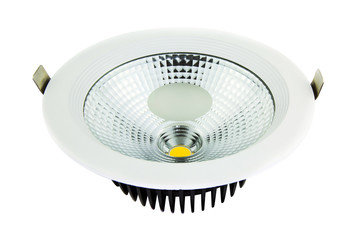 LED down light isolated