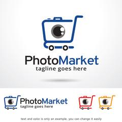 Photo Market Logo Template Design Vector