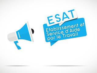 mégaphone : ESAT