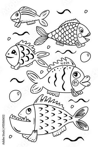 Kleine Fische, große Fische