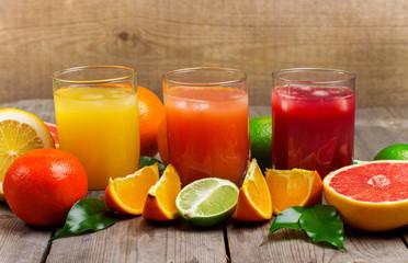 Seasonal Fresh Juices