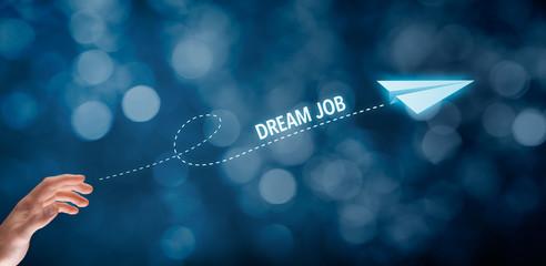 Dream job concept