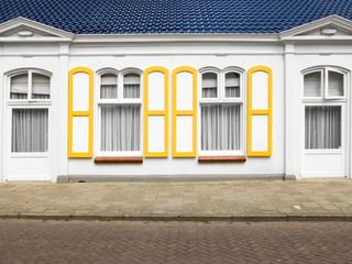 Hausfassade mit Fenster