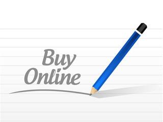 buy online written message sign